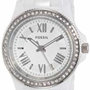 Fossil End of Season Cecile Analog White Dial Women's Watch – CE1085