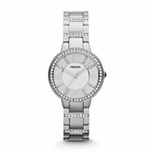 Fossil Virginia Analog Silver Dial Women's Watch – ES3282
