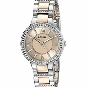 Fossil Virginia Analog Gold Dial Women's Watch – ES3405